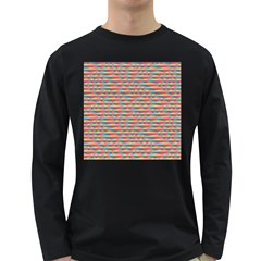 Background Abstract Colorful Long Sleeve Dark T Shirts
