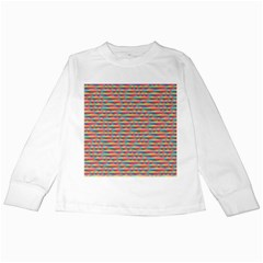 Background Abstract Colorful Kids Long Sleeve T Shirts
