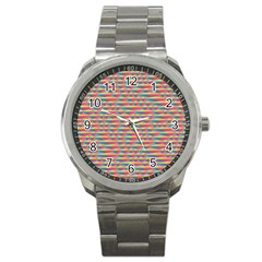 Background Abstract Colorful Sport Metal Watch
