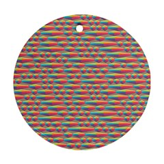 Background Abstract Colorful Round Ornament (two Sides)
