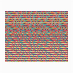 Background Abstract Colorful Small Glasses Cloth (2 Side)