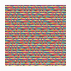 Background Abstract Colorful Medium Glasses Cloth (2 Side)