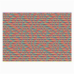 Background Abstract Colorful Large Glasses Cloth (2-Side)