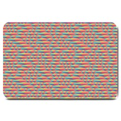 Background Abstract Colorful Large Doormat