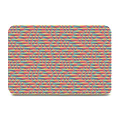 Background Abstract Colorful Plate Mats