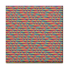 Background Abstract Colorful Face Towel