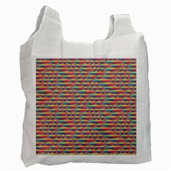 Background Abstract Colorful Recycle Bag (two Side)