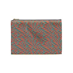 Background Abstract Colorful Cosmetic Bag (medium)
