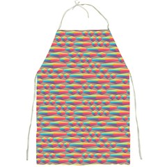 Background Abstract Colorful Full Print Aprons