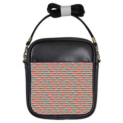 Background Abstract Colorful Girls Sling Bags