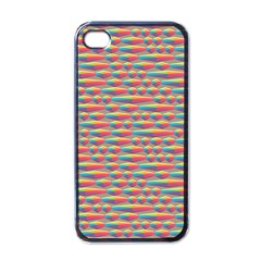 Background Abstract Colorful Apple Iphone 4 Case (black)