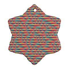 Background Abstract Colorful Ornament (snowflake)