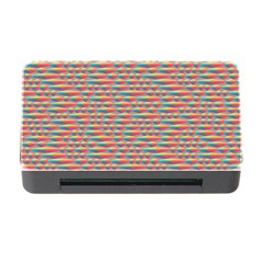 Background Abstract Colorful Memory Card Reader With Cf