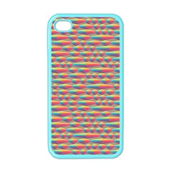 Background Abstract Colorful Apple iPhone 4 Case (Color)