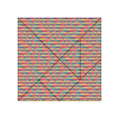 Background Abstract Colorful Acrylic Tangram Puzzle (4  X 4 )