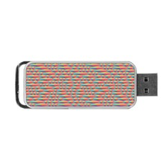 Background Abstract Colorful Portable USB Flash (One Side)