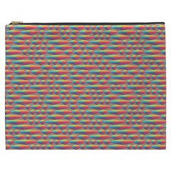 Background Abstract Colorful Cosmetic Bag (xxxl)