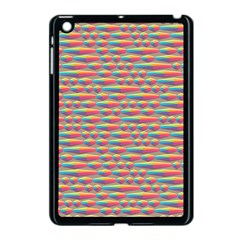 Background Abstract Colorful Apple Ipad Mini Case (black)