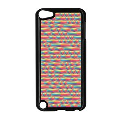 Background Abstract Colorful Apple Ipod Touch 5 Case (black)
