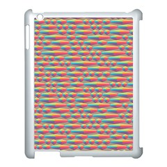 Background Abstract Colorful Apple Ipad 3/4 Case (white)
