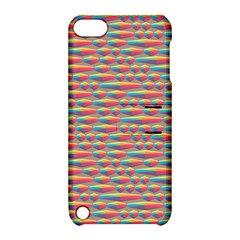 Background Abstract Colorful Apple Ipod Touch 5 Hardshell Case With Stand
