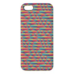 Background Abstract Colorful Apple Iphone 5 Premium Hardshell Case