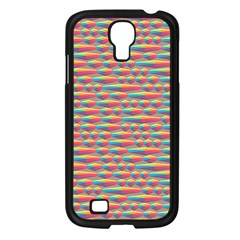 Background Abstract Colorful Samsung Galaxy S4 I9500/ I9505 Case (black)