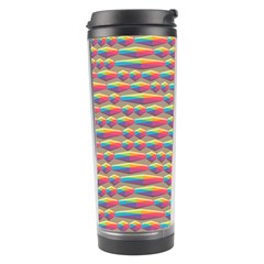 Background Abstract Colorful Travel Tumbler