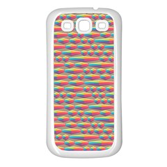 Background Abstract Colorful Samsung Galaxy S3 Back Case (white)
