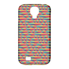 Background Abstract Colorful Samsung Galaxy S4 Classic Hardshell Case (pc+silicone)