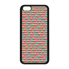 Background Abstract Colorful Apple Iphone 5c Seamless Case (black)