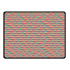 Background Abstract Colorful Double Sided Fleece Blanket (small)