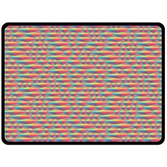 Background Abstract Colorful Double Sided Fleece Blanket (large)