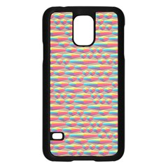 Background Abstract Colorful Samsung Galaxy S5 Case (Black)