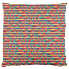 Background Abstract Colorful Standard Flano Cushion Case (one Side)