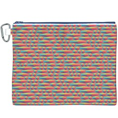 Background Abstract Colorful Canvas Cosmetic Bag (xxxl)