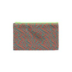Background Abstract Colorful Cosmetic Bag (XS)
