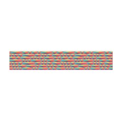Background Abstract Colorful Flano Scarf (Mini)