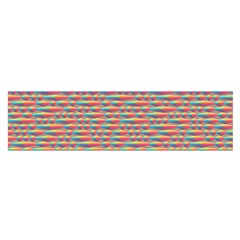 Background Abstract Colorful Satin Scarf (oblong)