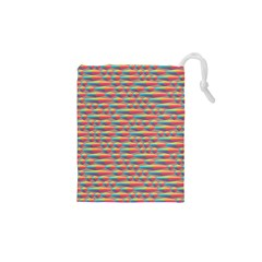 Background Abstract Colorful Drawstring Pouches (XS)