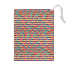 Background Abstract Colorful Drawstring Pouches (extra Large)