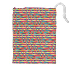 Background Abstract Colorful Drawstring Pouches (XXL)
