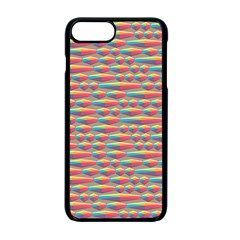 Background Abstract Colorful Apple Iphone 7 Plus Seamless Case (black)