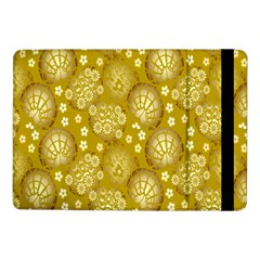 Flower Arrangements Season Gold Samsung Galaxy Tab Pro 10.1  Flip Case