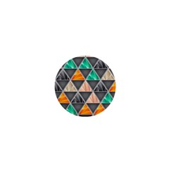 Abstract Geometric Triangle Shape 1  Mini Magnets