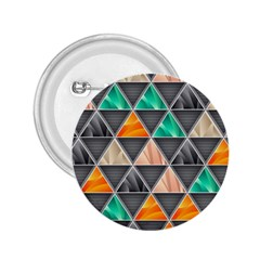 Abstract Geometric Triangle Shape 2 25  Buttons