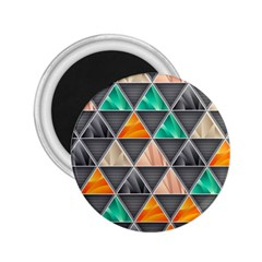 Abstract Geometric Triangle Shape 2 25  Magnets
