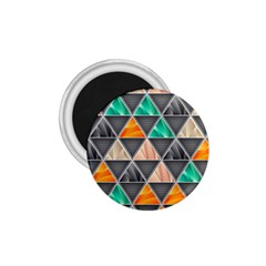 Abstract Geometric Triangle Shape 1 75  Magnets