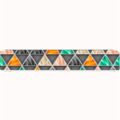 Abstract Geometric Triangle Shape Small Bar Mats