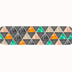 Abstract Geometric Triangle Shape Large Bar Mats
